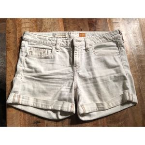Anthropologie Pilcro White Shorts